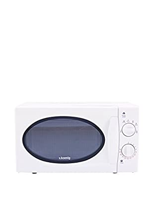 H.koenig Mikrowelle VIO6 weiß weiß