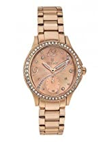 Titan Purple Collection Rose Gold / Copper Dial Womens Analog Watch- 95024WM01J
