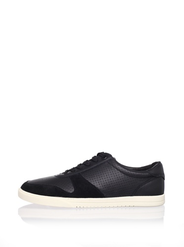 Clae Men's Gregory Sneaker (Black Leather)