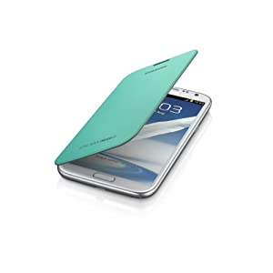 Samsung Galaxy Note 2 Flip Cover Case - Mint