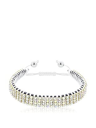 Diamond Style Pulsera Festival Style In White Ab