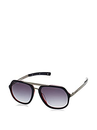 D Squared Sonnenbrille DQ021357 (57 mm) schwarz/metall/rot