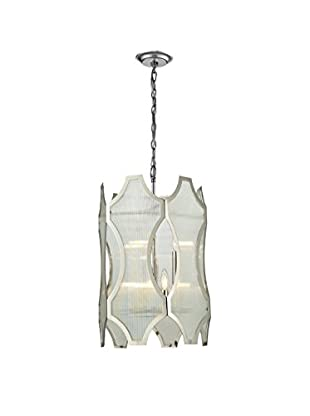 Artistic Lighting Pendant, Polished Nickel