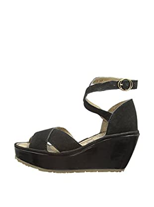 Fly London Sandalias Pami (Negro)