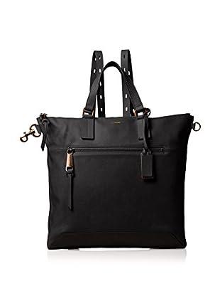 Joy Gryson Women's Raw Squared Ryan Backpack, Black