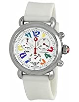 Michele Csx 36 Carousel White Silicon Ladies Watch Mww03M000090