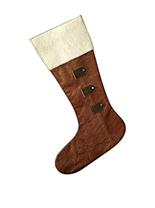 Sage & Co. Hair-On Hide Leather Stocking