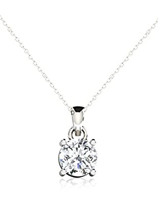 Friendly Diamonds Set catenina e pendente FDP6258W Oro Bianco