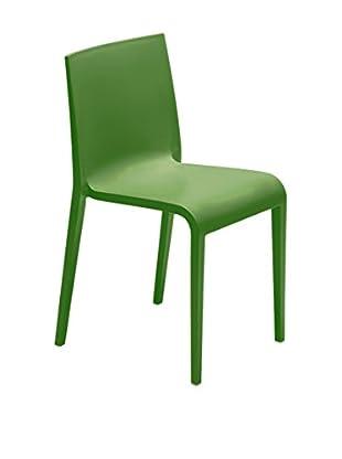 METALMOBIL Stuhl 2er Set Nassau grün