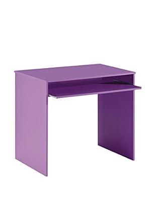 13 Casa Schreibtisch Hugo C8 lila 90 x 54 x 79H cm
