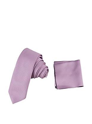 GIORGIO DI MARE Set: Einstecktuch + Krawatte
