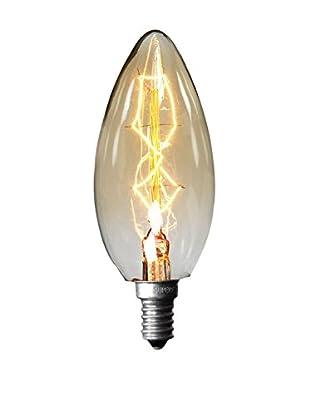 LO+DEMODA Bombilla Edison Vintage 8Clear C35 E14 40W Cristal transparente