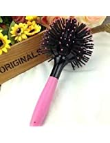 1Pc Newest 3D Hair Brush Ball Style Blow Drying Detangling Heat Resistant Hair Comb