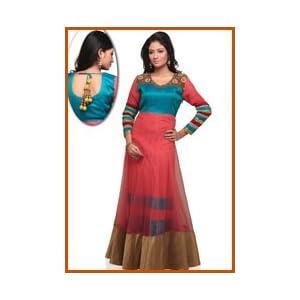 Light Red Net Dress