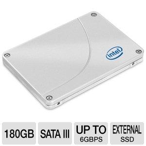Intel SSD 520 Series(Cherryville) 180GB 2.5inch Reseller BOX SSDSC2CW180A3K5