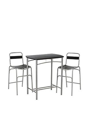 Premier Houseware  Tischgruppe 2402591 schwarz