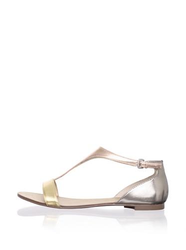 Boutique 9 Women's Piraya Sandal (Gold Multi)