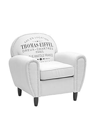 Baxton Studio French Style Thomas-Eiffel Rustic Chair, Beige