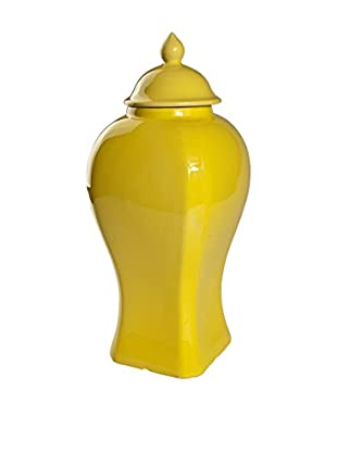 Donny Osmond Home Lidded Jar, Yellow