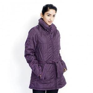 Numero Uno Full Sleeves Women's Jacket - Plum