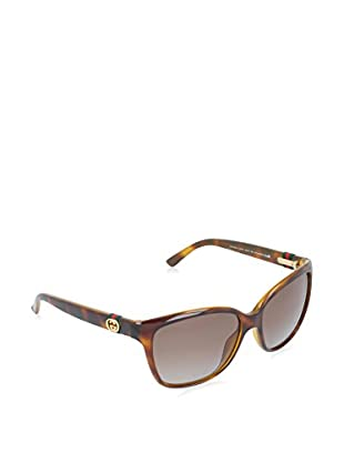 Gucci Sonnenbrille Polarized 3645/S LA Q3V (56 mm) havanna DE 56-15-135 (56-15-135)