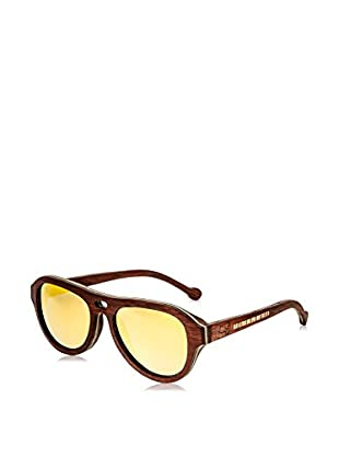 Earth Wood Sunglasses Gafas de Sol Wood Clearwater (51 mm) Marrón / Violeta