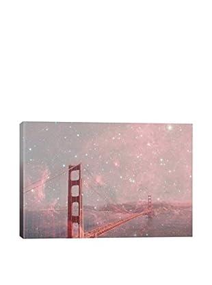 Bianca Green Stardust Covering San Francisco Canvas Print