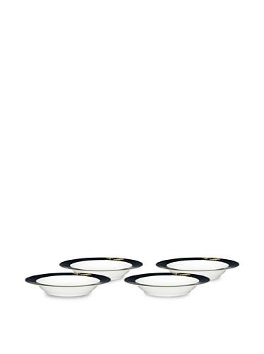 Noritake Set of 4 Everyday Elegance Verdena Pasta Bowls (Gold)