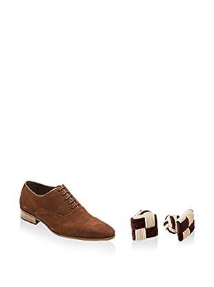 Ortiz & Reed Zapatos Oxford + Gemelos SET-ZCS7-GN9