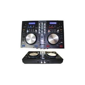 EMB - DJX7U - NEW Professional DUAL USB/SD/MP3 Mixer DJ Scratch Midi Controller Virtual DJ Software included