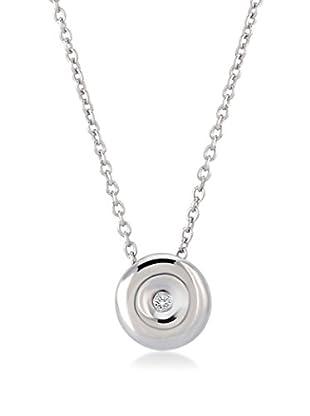 Divas Diamond Set catenina e pendente argento 925