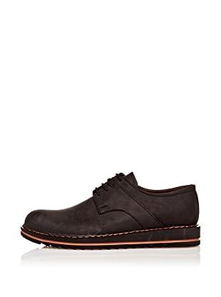 Paolo Massi Zapatos Derby Cordones (Negro)