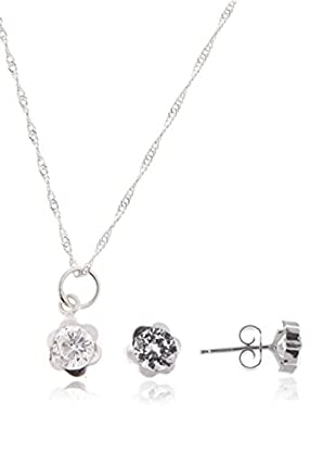 Córdoba Jewels Set catenina, pendente e orecchini argento 925