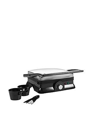 Chef Buddy Non-Stick Grill & Panini Press with Hinge Release