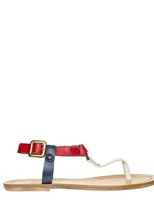 Bisue Sandalias (blanco / rojo / marino)