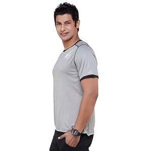 Nike Grey Half Sleeves Cotton Men's T-shirt