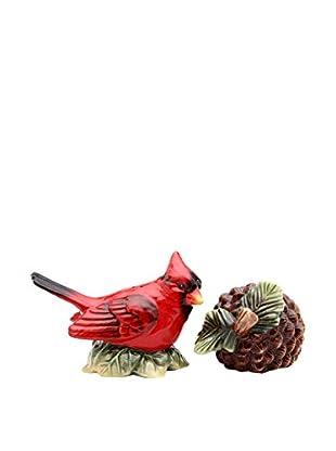 Cosmos Evergreen Holiday Cardinal Salt & Pepper