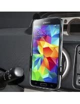 Amzer Swiveling Air Vent Vehicle Mount Holder for Samsung Galaxy S5 - Retail Packaging - Black