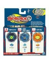 Beyblade Metal Fusion Tops 3-Pack