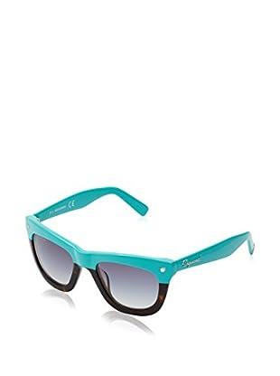 D Squared Sonnenbrille DQ017651 (51 mm) türkis/havanna