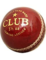 "Cricket Leather Ball ""CW Club""(In pack Of Six)"