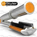 Instyler The Rotating Iron . Hair Straightener And Curling Iron / In Styler.*