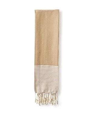 Nine Space Aegean Turkish Fouta Hand Towel, Cream