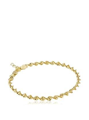 ENVY Pulsera Twist Gold plata de ley 925 milésimas
