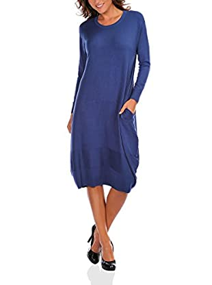 Bleu Marine Vestido Julia