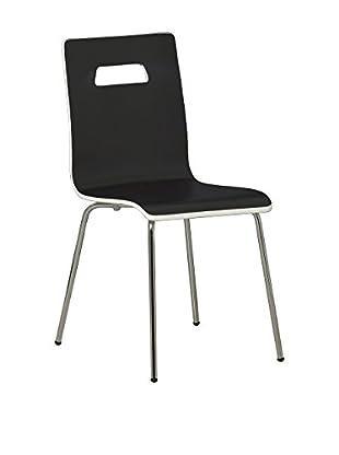 Modern Home Stuhl schwarz/weiß