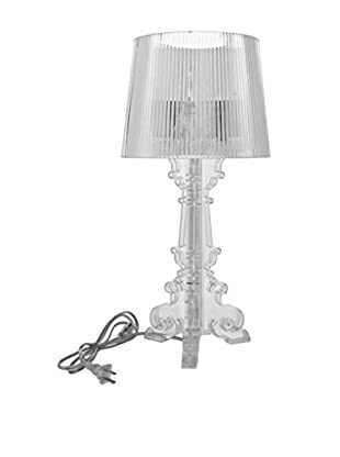 Modway Europe Acrylic Table Lamp, Clear
