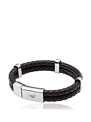 U.S. Polo Assn Armband USPJ904BR schwarz/metall