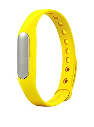 Bluetooth Fitness Tracker Activity Band, Yellow