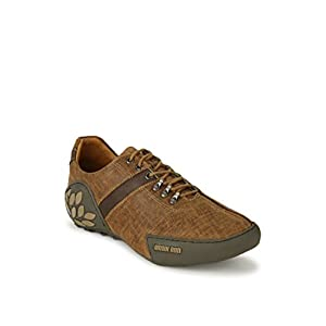 Woodland Men's Camel Casual Shoes